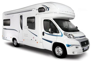 Overcab coach built motorhome hire