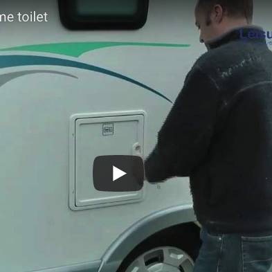 How to empty a motorhome toilet