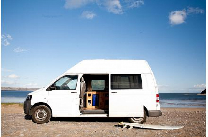 VW Sandy the Transporter hire Swansea