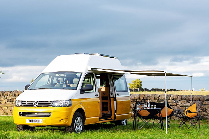 VW Homer the Transporter T5 4Motion hire Leeds