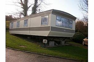 Tudor Profile Static Caravan  for hire in  Borth