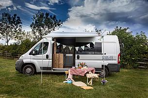 Campervan hire Dunbar