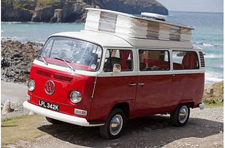 VW Bay front hire Truro