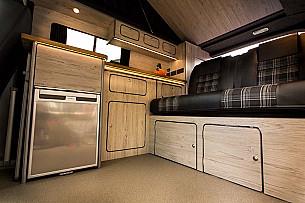 Campervan hire Denby Village