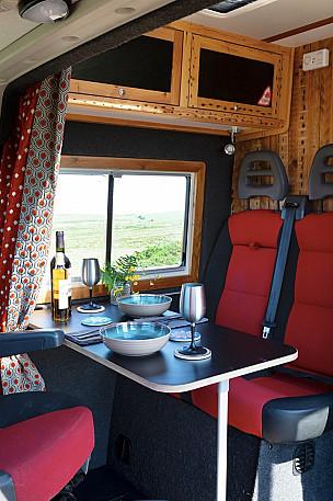 Campervan hire nr Exeter