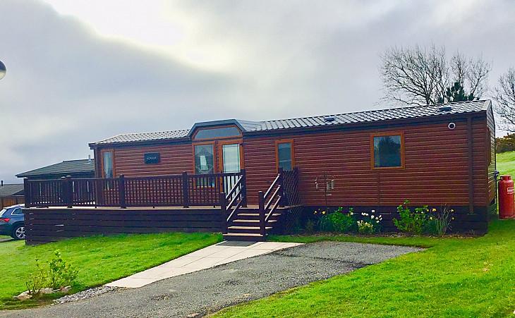 Caravan rental Pwllheli - 3 bed Lodge