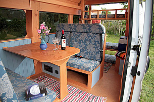 Campervan hire  Falmouth