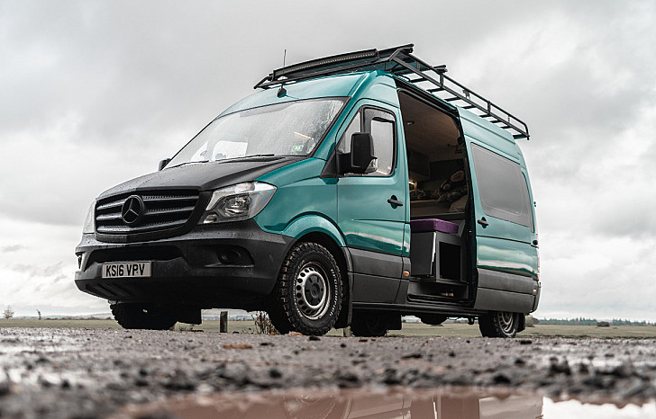 Mercedes Spike the Sprinter hire Bournmouth
