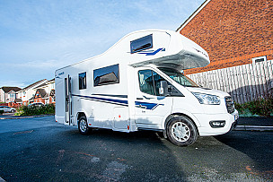 Ford Transit Evo Sound Motorhome  for hire in  Plymouth
