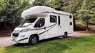 Autotrail T-726 Motorhome  for hire in  Morecambe