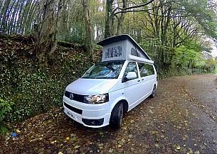 VW Transporter T5.1 Campervan  for hire in  Gloucester