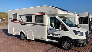 Roller Team Zefiro 696 Motorhome  for hire in  Dundee