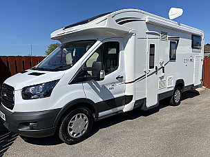 Roller Team Zefiro 685 Motorhome  for hire in  Inverurie