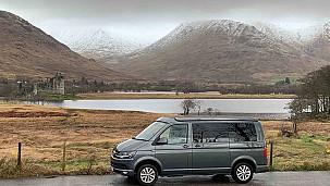 Volkswagen T6 Campervan  for hire in  Edinburgh