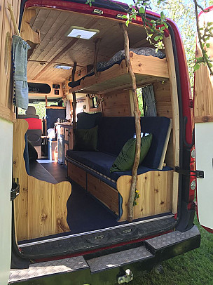Campervan hire Woodthorpe