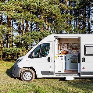 Campervan hire Badgers Mount