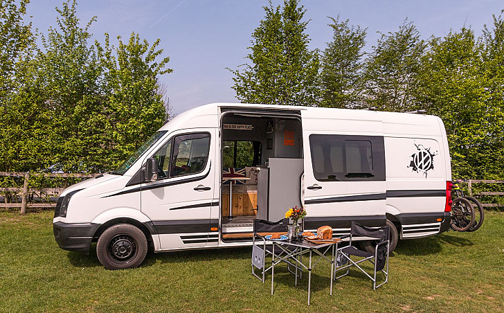 VW Valerie the Crafter hire Reading