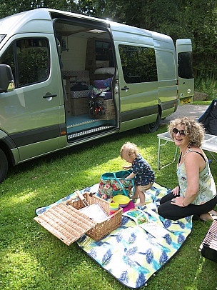 Campervan hire Kilwinning