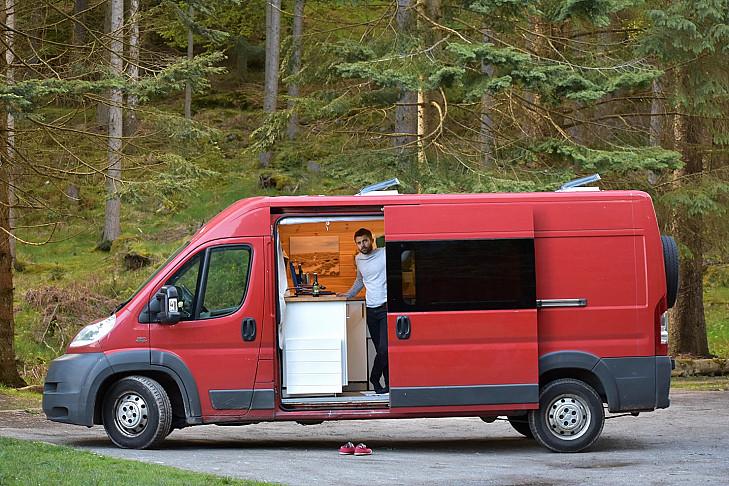 Fiat Delia the Ducato hire Edinburgh