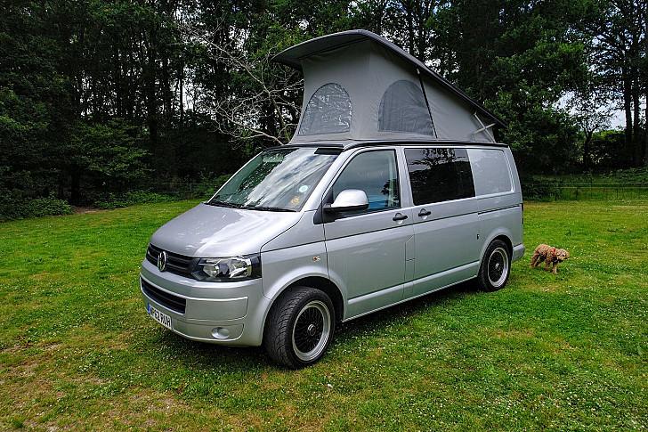 Volkswagen Ada the T5 hire Worthing