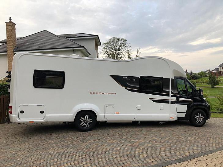 2019 Bessacarr 596 Luxury Motorhome hire Kilmarnock