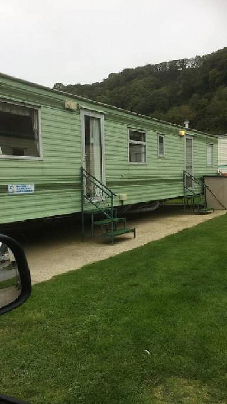 Caravan rental Ceredigion - Bk Bluebird