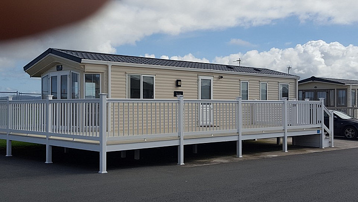 Caravan rental Rhyl - BK Bluebird Sheraton