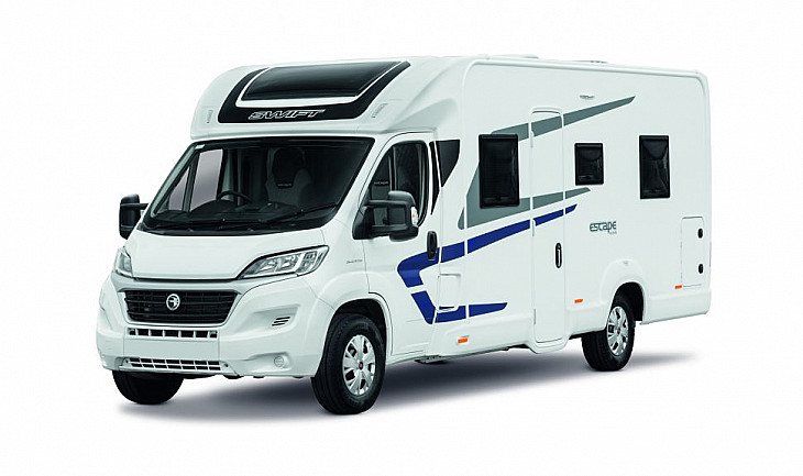 2021 Swift Escape 694 hire Wetherby