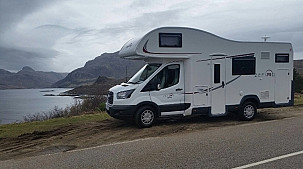 Rollerteam Zefiro 675 Auto Motorhome  for hire in  Inverness