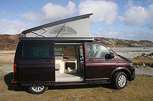 Volkswagen T6 California Campervan  for hire in  Glasgow