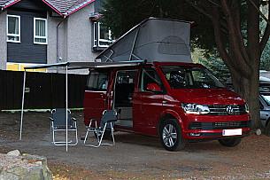 VW California 4 Berth Automatic Campervan Campervan  for hire in  Preston