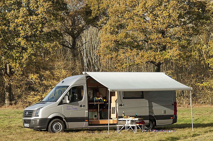 VW Angel the Crafter hire Maidstone