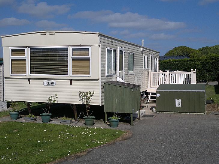 Caravan rental Newquay - Cosalt Torino Super 35