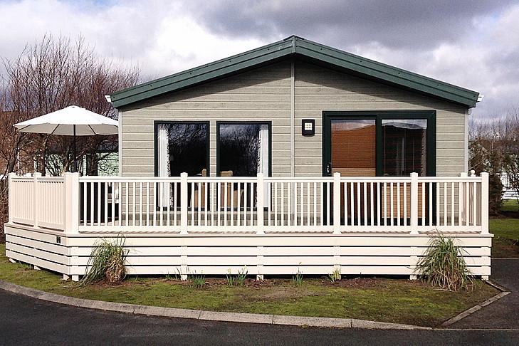 Caravan rental Porthmadog - 3 bed Lodge