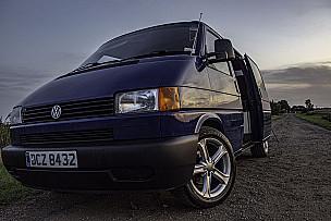 Volkswagen T4 Campervan  for hire in  Cambridge