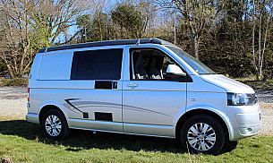 VW Transporter T5 Campervan  for hire in  Manchester