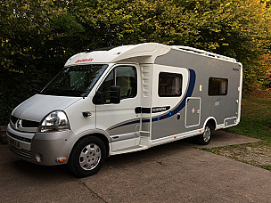 Dethleffs Esprit RT7014 Motorhome  for hire in  North Tawton
