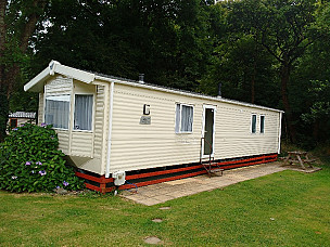 Willerby Rio Static Caravan  for hire in  Cardigan